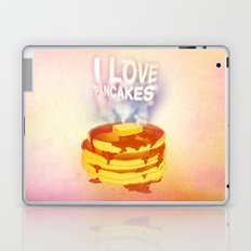 I Love Pancakes Laptop & iPad Skin