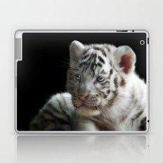 White Tiger Cub Laptop & iPad Skin