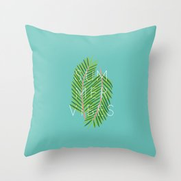 summer vibes new art love fun vibe summer beach cute 2018 2019 hot sun beaching goals paper tan feel Throw Pillow