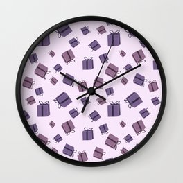 Gift boxes Wall Clock