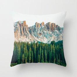 Far Far Away #nature #photography Throw Pillow