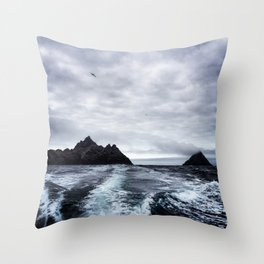 Skellig Islands 2 Throw Pillow