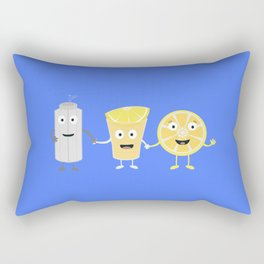 Salt, lemon and tequila Rectangular Pillow