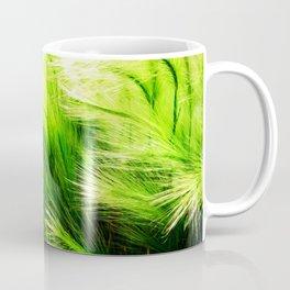 Green Swaying Grass in Summer Breeze Coffee Mug