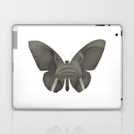 Elephant Butterfly Laptop & iPad Skin