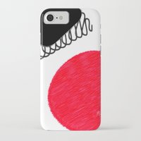 clown iPhone & iPod Cases featuring clown by Gréta Thórsdóttir
