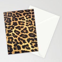 Leopard Print pattern - Leopard spots - Texture Stationery Cards