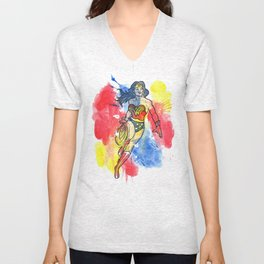 Woman of Wonder Unisex V-Neck