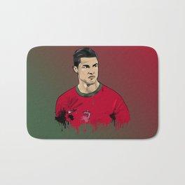 Cristiano Ronaldo Bath Mat