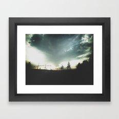 SHROUD Framed Art Print
