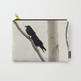 Two Crows Carry-All Pouch