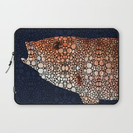 Red Grouper Fish - Florida Art By Sharon Cummings Laptop Sleeve