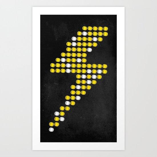 Lite Bolt Art Print