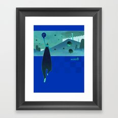 world8 Framed Art Print