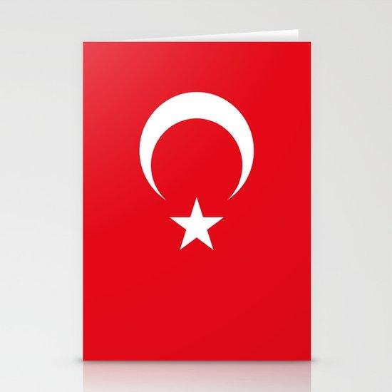 Flag of Turkey Stationery Cards