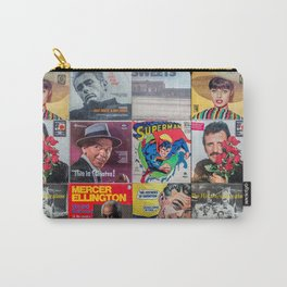 Old Records Carry-All Pouch