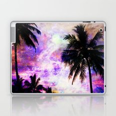 Nebula Palm Trees Laptop & iPad Skin