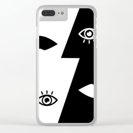 My Negative Side Clear iPhone Case