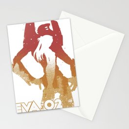 Asuka Langley EVA 002 - Evangelion Stationery Cards