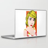 popart Laptop & iPad Skins featuring popart  by Biansa Naiyananont