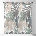 Tropical Jungle Leaves Pattern #13 (Fall Colors) #tropical #decor #art #society6 by anitabellajantz