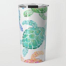 Sea Turtle - Colour Travel Mug