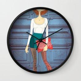 Lady Lady Wall Clock