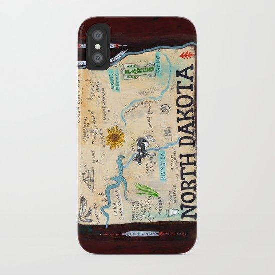 NORTH DAKOTA iPhone Case