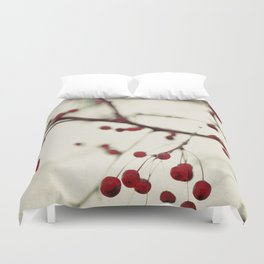 dark berries Duvet Cover