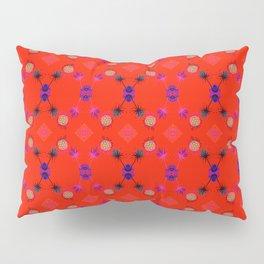 Fancy Argyle /Orange Pillow Sham