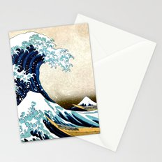 Kanagawa Oiled Stationery Cards