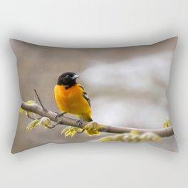 The Colors of Spring Rectangular Pillow