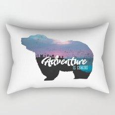 Nature Exploring - Bear Rectangular Pillow