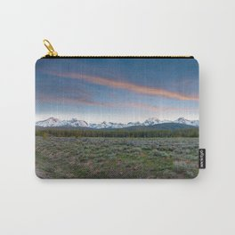 Sawtooth Mountain Sunset, Stanley, Idaho Carry-All Pouch