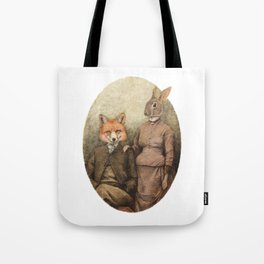 The Foxes Tote Bag