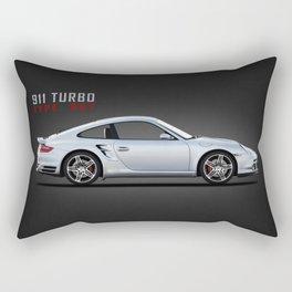 The 911 Turbo Type 997 Rectangular Pillow