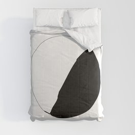 Black and White Cookie New York Comforters