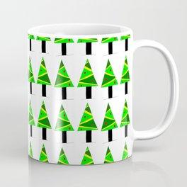 Christmas tree 2-pine,Yule-tree,Christmas,garlands,baubles,tinsel,evergreen,Star of Bethlehem Coffee Mug