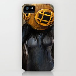 Ghost Diver iPhone Case