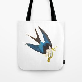 Swallow-tailed Hawk Tote Bag
