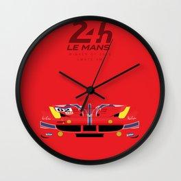 Minimal 458 Le Mans 2016 Wall Clock