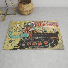 Never Again Tomorrow Express Rug