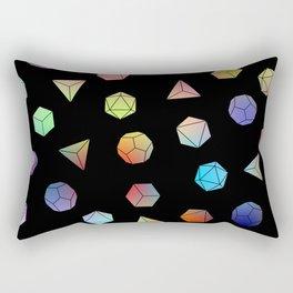 Platonic solids II Rectangular Pillow
