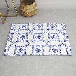 Azulejo Luso - Portuguese Tiles Rug