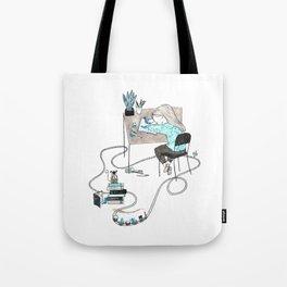 Work & Play Tote Bag