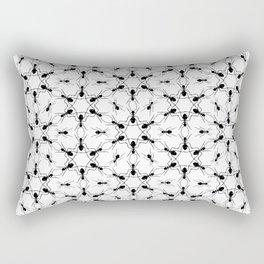 Ant Lace Rectangular Pillow