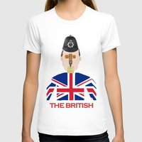 british flag T-shirts featuring The British by Dano77