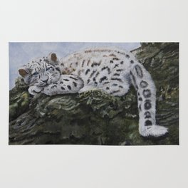 Blue Eyes by Teresa Thompson Rug