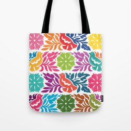 Chiapas Embroidery Tote Bag