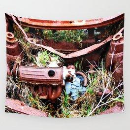 Rust Bucket Wall Tapestry